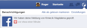 Facebook Spam melden 11