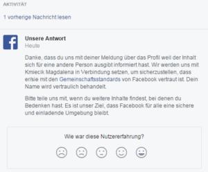 Facebook Spam melden 13