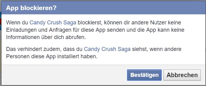 Facebook Spieleanfragen blockieren 2