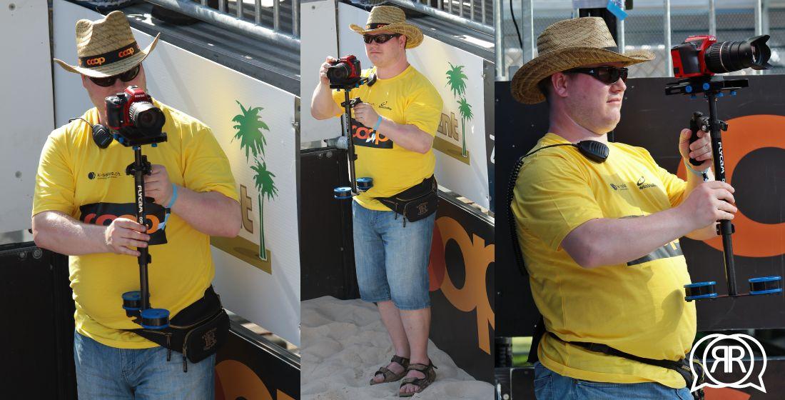 Roger Ruckstuhl an der Coop Beachtour Genf 2016