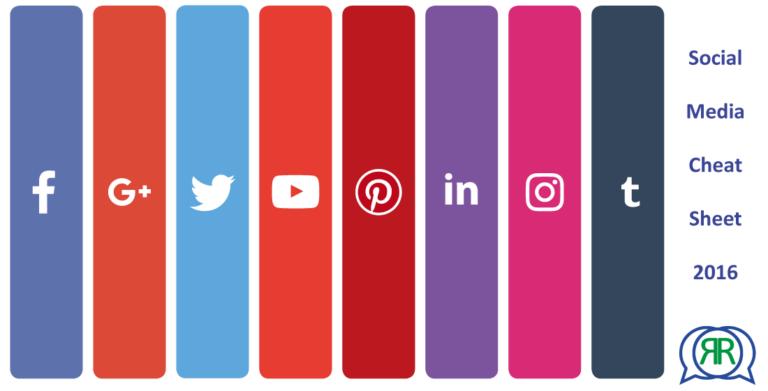 Social Media Cheat Sheet 2016