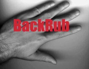 BackRub Logo erstes Google Logo