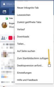Facebook Nachrichten auf dem Smartphone ohne Messenger