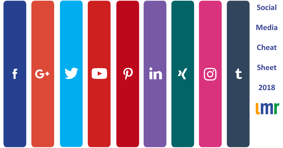 Social Media Cheat Sheet 2018