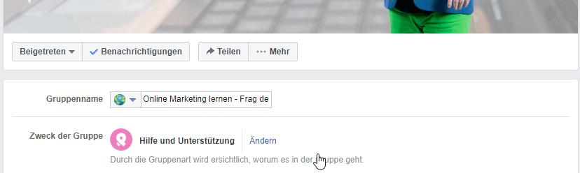 Facebook Gruppen Einstellungen 01