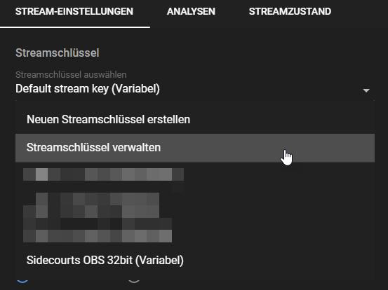 YouTube mehrere Streams starten03