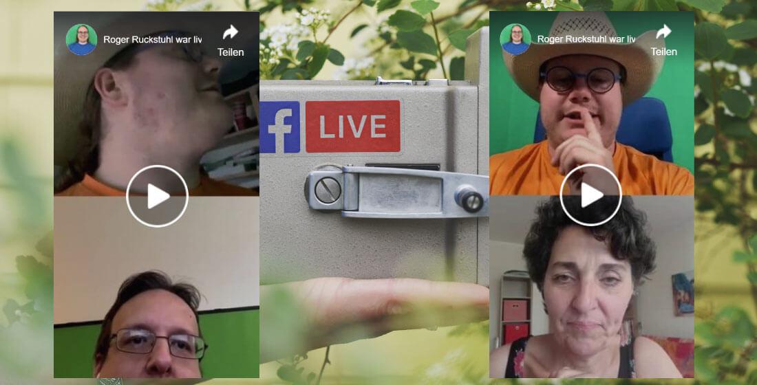 Neue Funktion: Facebook Live mit mehreren Personen