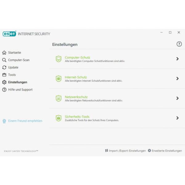 ESET-Internet-Security-screenshot-einstellungen