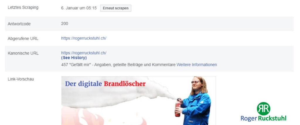 Facebook Vorschaubild ändern