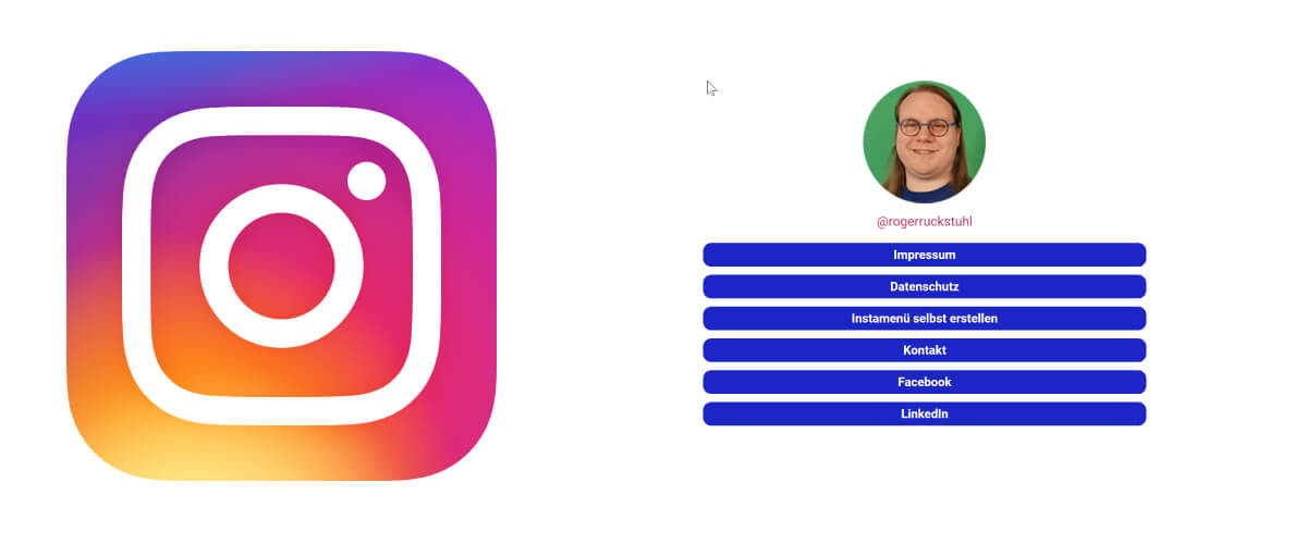 Instagram Menü Instamenü mit Elementor erstellen
