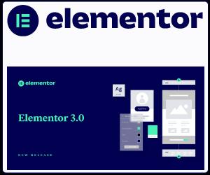 Elementor der beste Website Builder Werbung