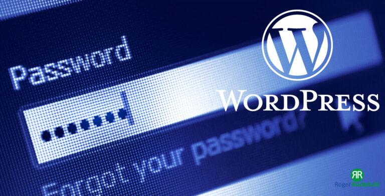 WordPress-Passwort-vergessen