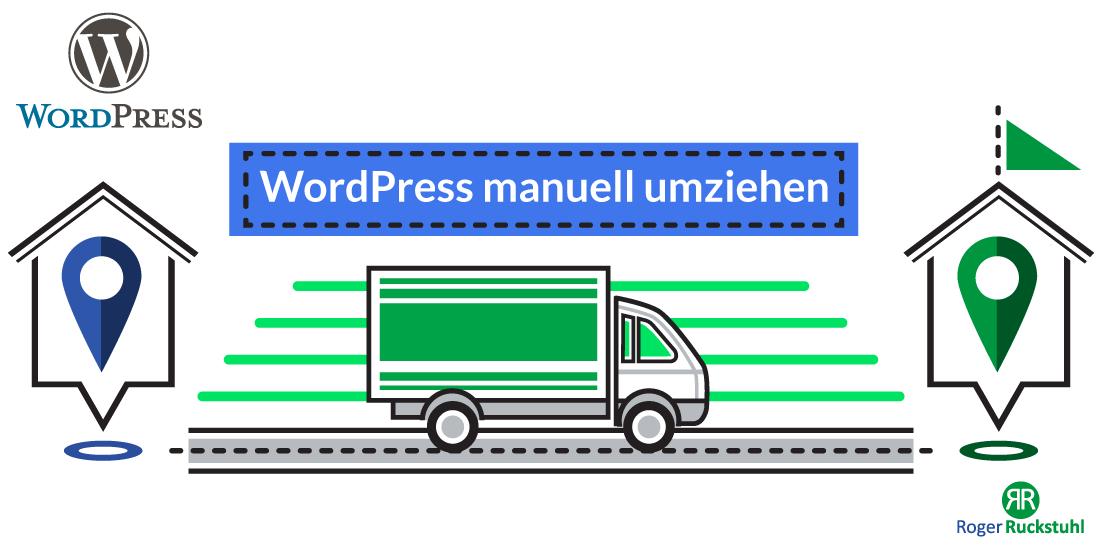 WordPress manuell umziehen